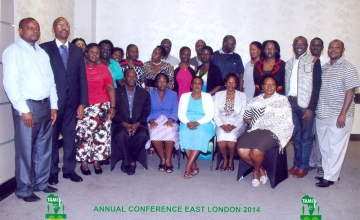 Conference Participants 2014 in East London